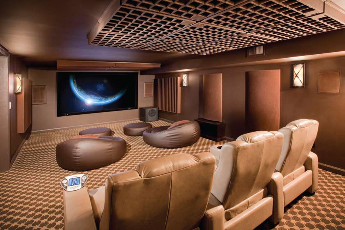 Private Cinema Room Design and Implementation