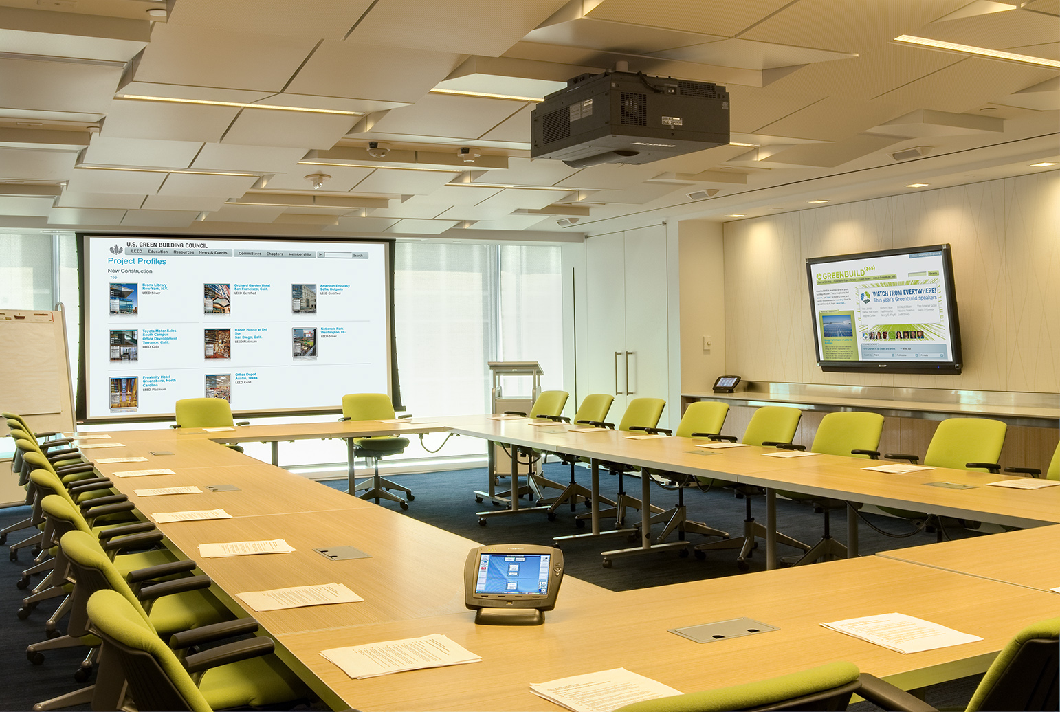 Meeting Room Audio Video and Management Systems